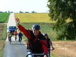 Landrat-Fahrradtour 2009
